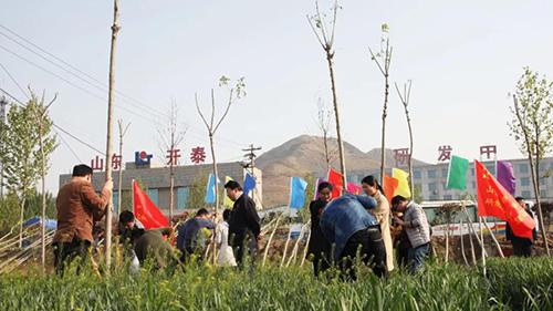 葡京国际APP人在植树